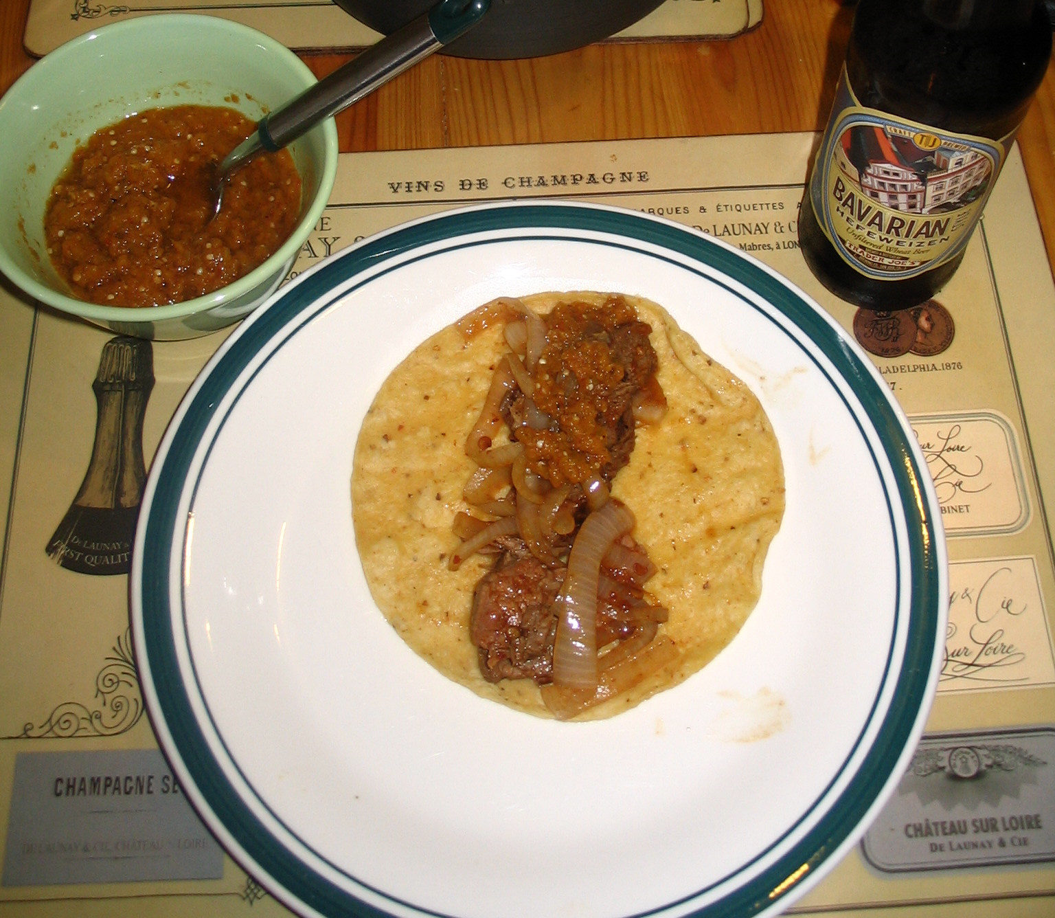 ... by Rick Bayless: Chipotle Beef Tacos with Caramelized Onions Review